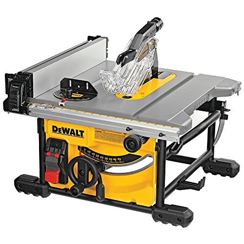 DeWALT DWE7485-QS Tischkreissaege 210 mm, 1850 W, Schwarz/Gelb, DWE7485-QS-Sierra de Mesa 1.850W-Ø210mm-Mesa...