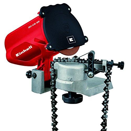 Einhell Sägekettenschärfgerät GC-CS 85 (Schleifscheibe, Tiefenbegrenzung, Kettenspannvorrichtung, präzise...
