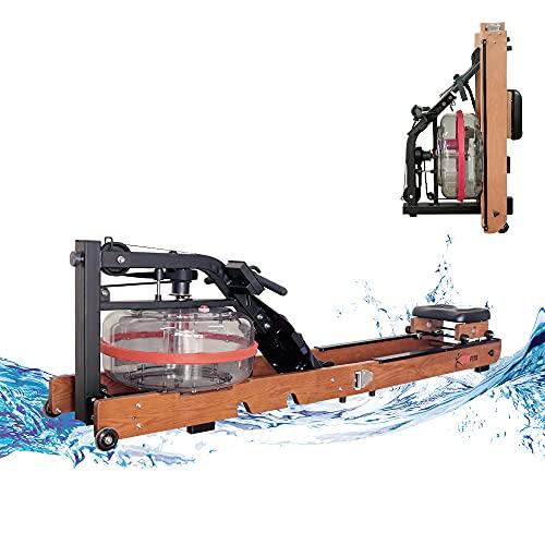 Fitifito WR19 Rudergerät Wasser-Rudergerät klappbar für zu Hause, vormontiert, max. 170kg, 17L Wassertank,...