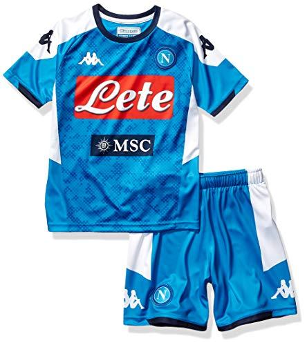 SSC Napoli 2019/2020 Kinder Heim-Set, blau, 8 Jahre