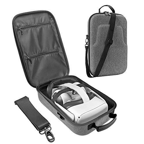 Esimen Fashion Travel Case für Oculus Quest 2 / Oculus Quest VR Gaming Headset und Controller Zubehör...