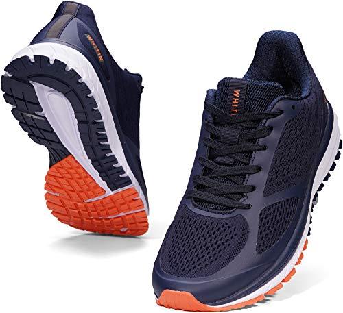 WHITIN Laufschuhe Herren Joggingschuhe Straßenlaufschuhe Turnschuhe Sportschuhe Gym Schuhe Walkingschuhe...
