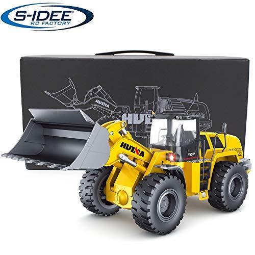 s-idee® 18168 Metall Radlader V3.1 1:14 Profi mit Sound und Licht die Cast rc Modell Huina 583 1583