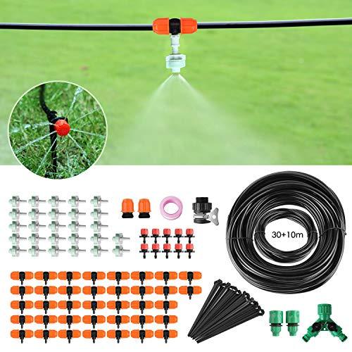 FIXKIT 40M Bewässerungssystem, 120PCS Garten Bewässerung Kit, Automatische Bewässerung Sprinkler mit...