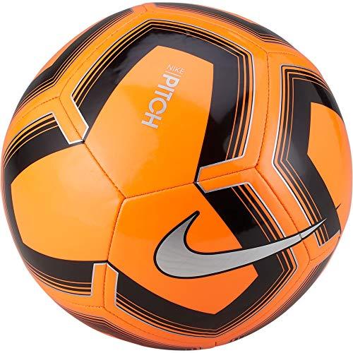 Nike Unisex– Erwachsene Pitch Training Fußball, Total Orange/Black/Silver, 5
