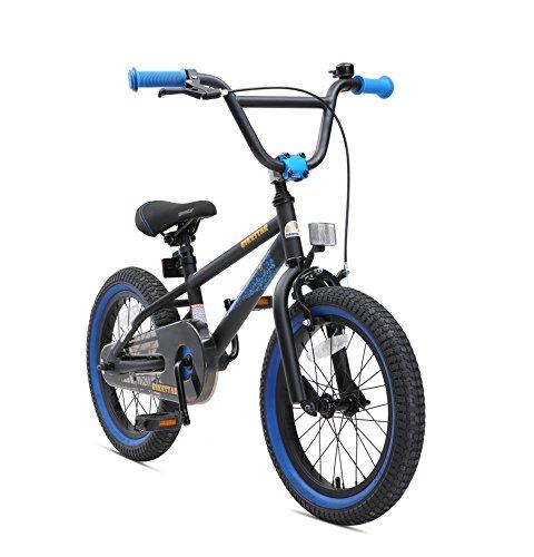 BIKESTAR Kinderfahrrad für Mädchen und Jungen ab 4-5 Jahre   16 Zoll Kinderrad Kinder BMX Freestyle  ...
