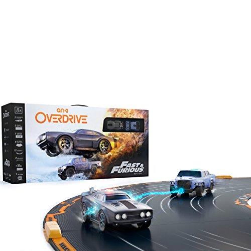 Anki 000-00068 Overdrive Fast und Furious Edition,App-gesteuertes Autorennbahn-Set, fr 1- 4 Spieler,mehrfarbig