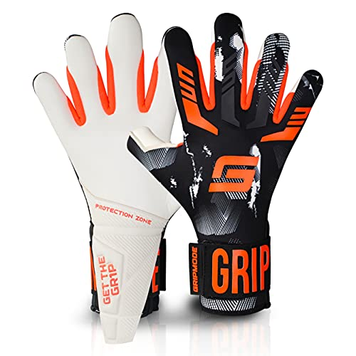 Gripmode Gravity Hybrid Torwarthandschuhe I Torhüter Handschuhe mit Belag aus Griptec® Latex für jedes...
