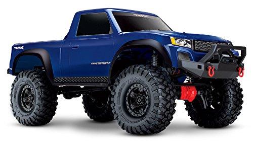 Traxxas 82024-4 TRX-4 Sport Rc Auto, blau