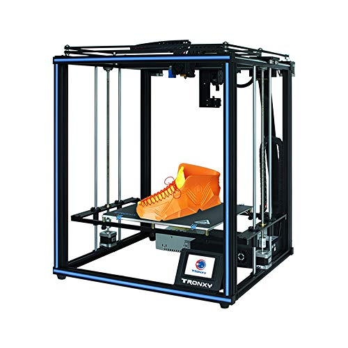 X5SA PRO 3D Printer with Titan, Core XY Structure with Industrial Linear Guide, 30P Integrated Cable, Safe for...