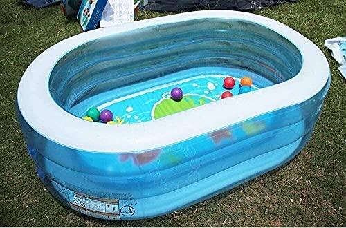 YYhkeby Faltpool, Ozean-Ballpool, aufblasbarer Kinderbecken, Padding-Pool, Kindersandpool, Gartenpool Party...