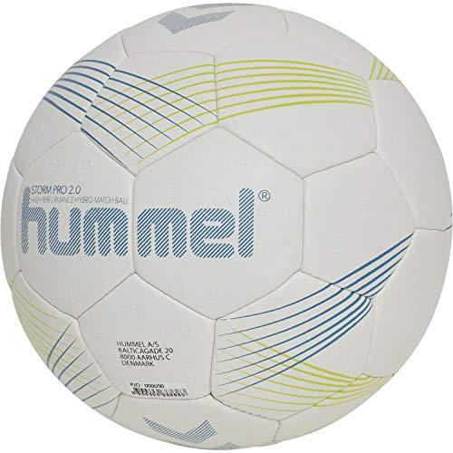 hummel Unisex-Adult Storm PRO 2.0 HB Handball, Light Grey/Blue, 3