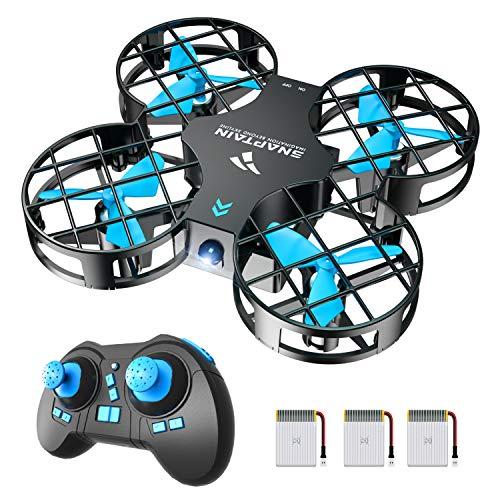 SNAPTAIN Mini Drohne H823H mit 3 Akkus für 21 Minuten Flugzeit, RC Drone, Quadrocopter Mini Helikopter mit...