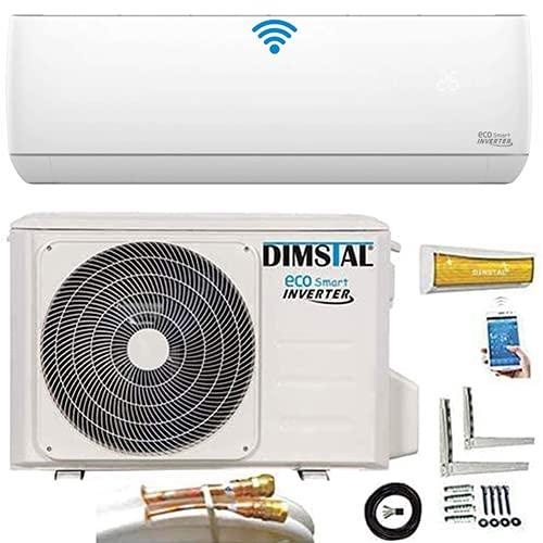 Quick-Connect INVERTER 3,5kW 12000 BTU sehr Leise Split Klimaanlage mit Selbstreinigung Klimagerät ECO Smart...