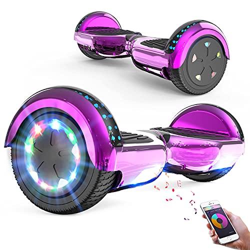 FUNDOT Hoverboards,Hoverboards Kinder,6,5 Zoll Self Balance Scooter,E-Scooter mit schönen...