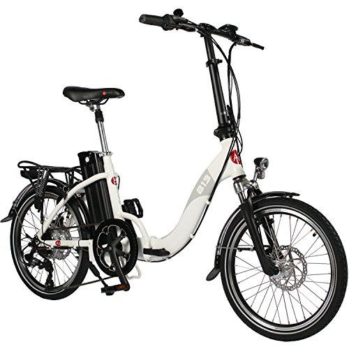 AsVIVA E-Bike 20 Zoll, Faltrad (15,6Ah Akku), Klapprad, 7 Gang Shimano Kettenschaltung, Heckmotor,...