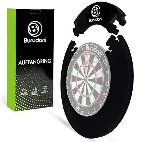 Burudani ® Dart Auffangring | Hochwertiger Dart Surround [3cm] Wandschutz | Ideale Passform für alle...