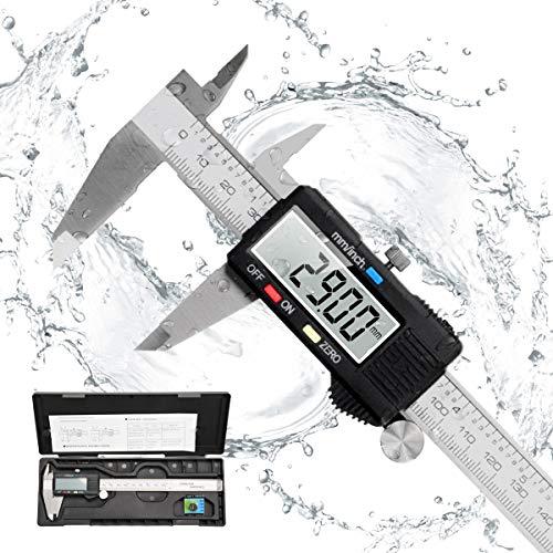 Messschieber Digital Schieblehre, Orthland 150mm Hochprzise Elektronische Edelstahl Meschieber mit LCD Display...