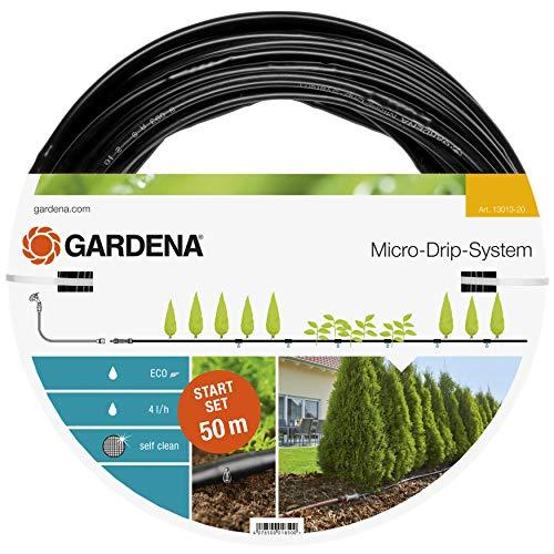 Gardena Start Set Pflanzreihen L: Micro-Drip-Gartenbewässerungssystem zur schonenden, wassersparenden...