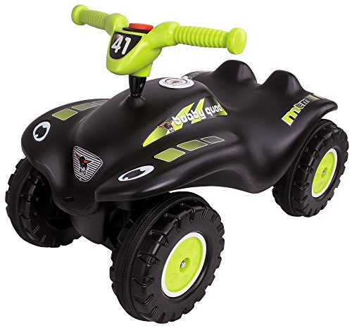 BIG-Bobby-Quad-Racing - Kinderfahrzeug mit Geheimfach und Kniemulde für ältere Kinder, 27 cm Sitzhöhe,...