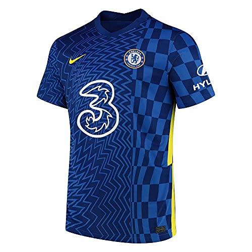 NIKE 2021–2022 Chelsea Fußball-T-Shirt., Herren, blau, M