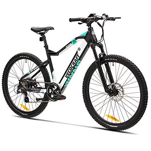 E-Bike Mountainbike VecoCraft Elektrofahrrad zu Männer und Frauen 36 V 9,6 Ah Akku 250 W Motor 27,5 Zoll mit...