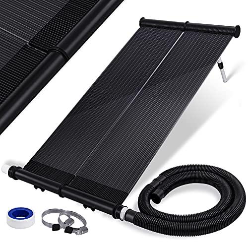 KESSER® Solarkollektor ECO Poolheizung 108 x 74 x 15cm (L x B x H), Warmwasser Heizung Solarheizung für...