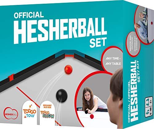 HesherBall-Set - Tischspiel für Erwachsene und auch Kinder ab 6 Jahre