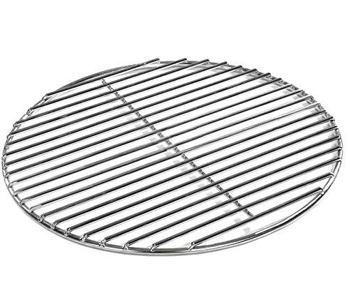 Grillrost Ø 54 cm aus Edelstahl rostfrei und elektropoliert 4mm für Grill rund, Kugelgrill, Feuerschalen...