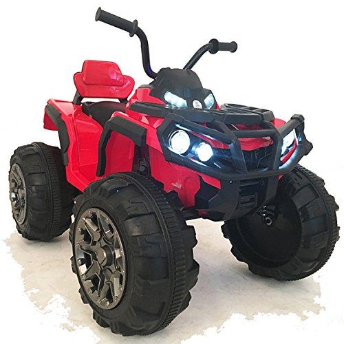 crooza 12V Kinder Quad / ATV mit 2X Motoren Kinderauto Kinderfahrzeug Kinder Elektroauto mit Fernbedienung...
