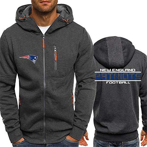 LAIDAN NFL Herren-Jerseyhoodie New England Patriots Fuball Kleidung Gedruckt Trikots Fuballbekleidung American...