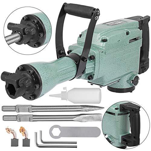 Mophorn 2200 Watt Abbruchhammer incl. Zubehr Meisselhammer Stemmhammer Abbruch Braker (2200w)