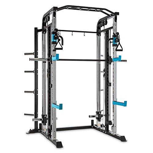 Capital Sports Amazor M Kraftstation Käfig - Power Rack, Power Cage, Gewichthebe- und Klimmzugübungen,...