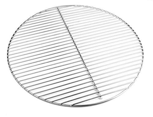 Hero Edelstahl Grillrost 54,5 cm 4/3 mm für Kugelgrill 55-56 - 57 cm auch für Weber 57