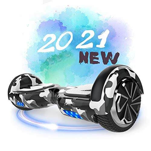 SOUTHERN WOLF Hoverboards, 6.5' Self Balancing Scooter Hoverboards mit Bluetooth-Lautsprecher Elektro Scooter...
