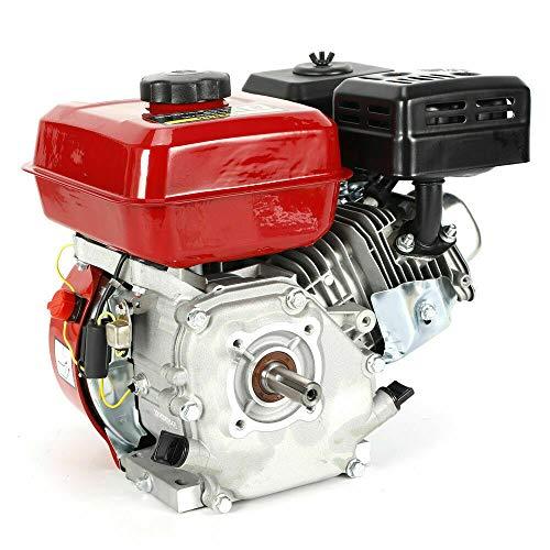 Benzinmotor Standmotor, 7.5 HP 4 Takt OHV Benzinmotor 5.1 KW 3600 U/min Standmotor Kartmotor Mit Ölalarm