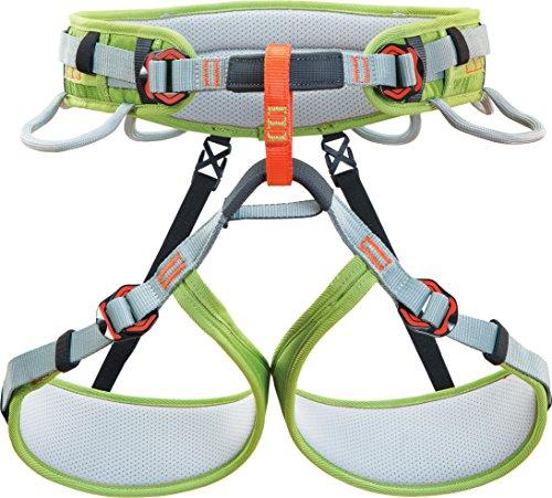 Climbing Technology Ascent Klettergurt Größe M-L mit verstellbaren Beinen, 4 Schnallen