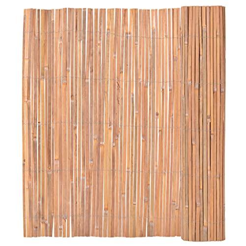 vidaXL Bambusmatte Bambus 150x400cm Sichtschutzzaun Sichtschutz Gartenzaun