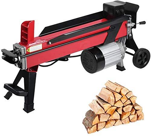 Elektrischer Holzspalter 7 Tonnen Spaltkraft / 52 cm Spaltlänge / 230V 2200 W, Elektromotor, kompakter...