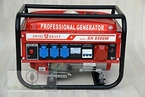 Kraftech / Benzin / Petrol / Stromerzeuger / Generator / PK-6500W / Stromgenerator / Aggregat /...