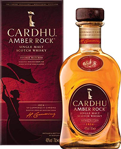 Cardhu Amber Rock Single Malt Scotch Whisky (1 x 0.7 l)