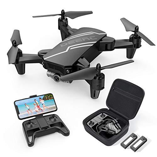 DEERC D20 Drohne für Kinder mit Kamera HD,Faltbar RC Quadcopter mit FPV Live Übertragung,Lange...