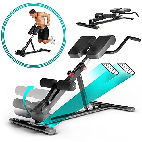 Sportstech Gesund&Fit in 2020 6in1 Rückentrainer & Bauchtrainer inkl. Dip Bar für zu Hause, ergonomisch...