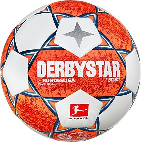 Derbystar Brillant Replica v21 Weiss orange blau 5