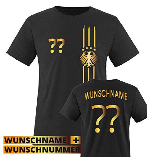 Kinder Fußball-Shirt mit Wunschnamen