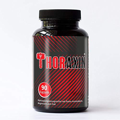 THORAXIN - Hochdosierte Muskelaufbau Kapseln Booster I L-Arginin + BCAA hochdosiert I Bodybuilding...