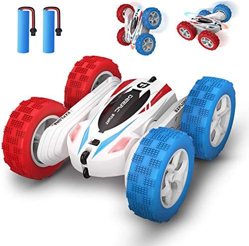 DEERC DE35 Ferngesteuertes Auto für Kinder, RC Car Wasserdicht mit 2 Akkus, 2,4 Ghz Fernbedienung,360° Flip...