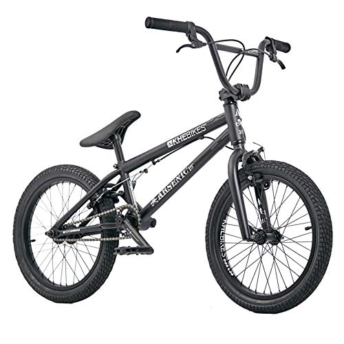 KHE BMX Fahrrad Arsenic 18 Zoll patentierter Affix 360° Rotor schwarz nur 10,1kg!