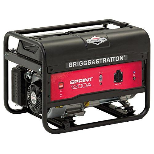 Briggs & Stratton SPRINT 1200A tragbarer Stromerzeuger, Generator, Benzin – 900 W Betriebsleistung/1125 W...