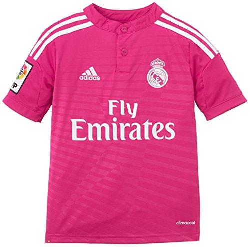 adidas Kinder Trikot Real Madrid Auswährttrikot 2014/2015, Blast Pink/White, 176, M37318